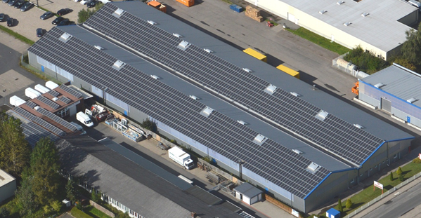 Nachhaltigkeit durch Solarenergie in der Marketing-Logistik