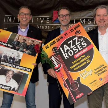 Jazz`s Roses unterstützt durch DREI-D | Marketing-Logistik