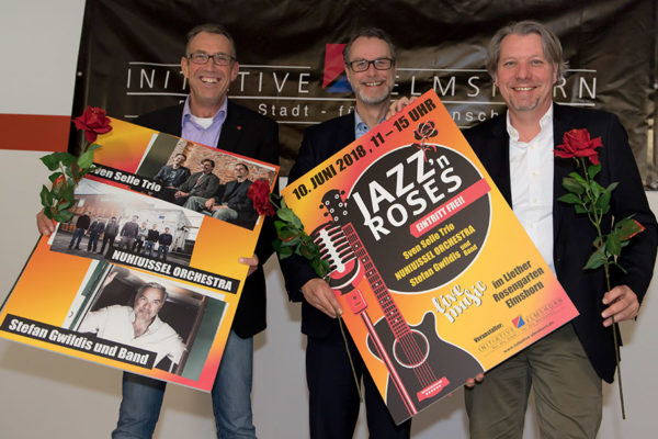 Jazz`s Roses unterstützt durch DREI-D   Marketing-Logistik