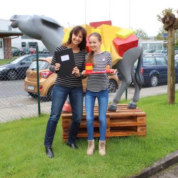 Girls Day bei DREI-D | Marketing-Logistik